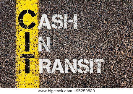Business Acronym Cit As Cash In Transit