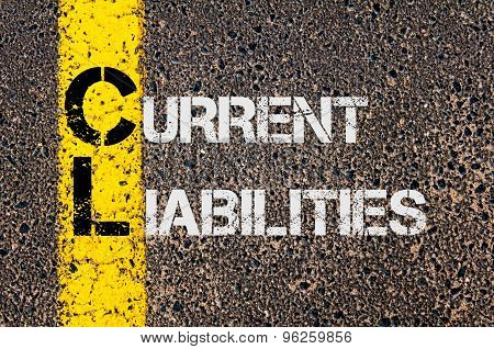 Business Acronym Cl As Current Liabilities