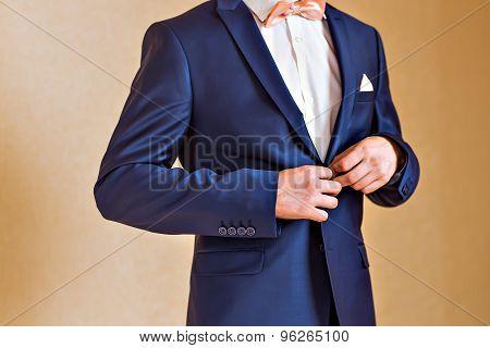 man dressed