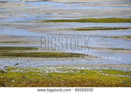 Shallow Glacial River