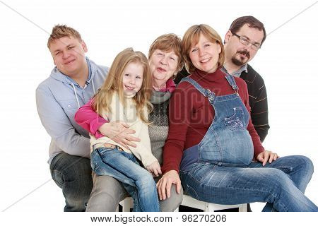 Big happy family