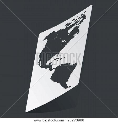 Monochrome America sticker