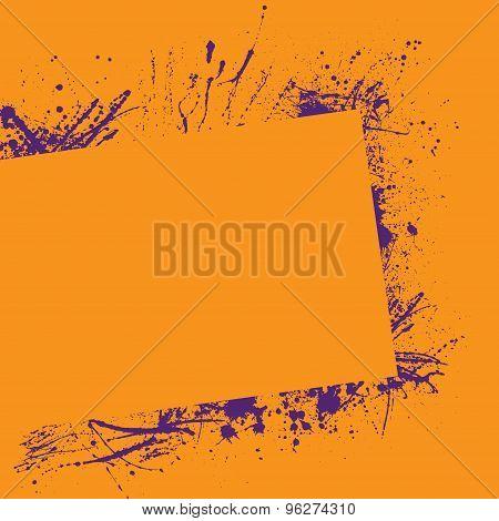 Splash frame orange