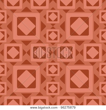 Ancient rhombus pattern