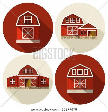 Farm Building Flat