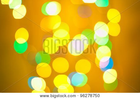 Abstract lights on background