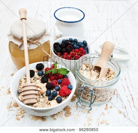 Breakfast With Fresh Berries