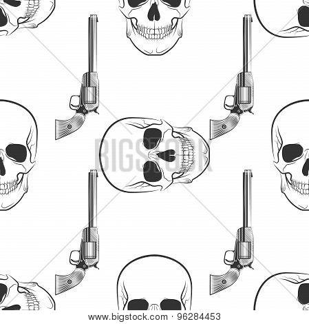 skull and Revolver pattern