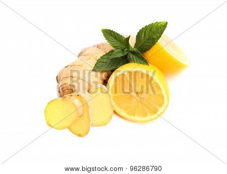 Ginger, Lemon, Mint