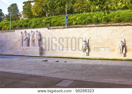 Wall Of Reformers In Geneva