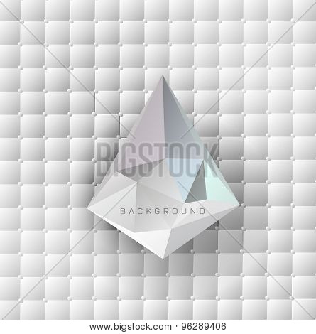 Abstract light blue background. Vector illustration