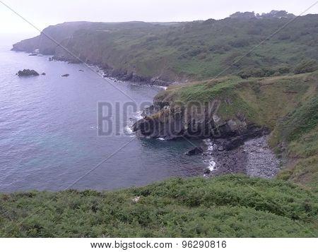 Cliff Seascape