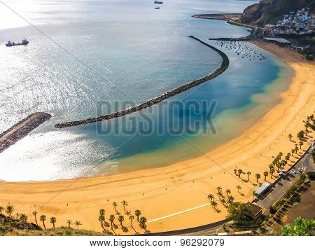 Teresitas Beach overlook