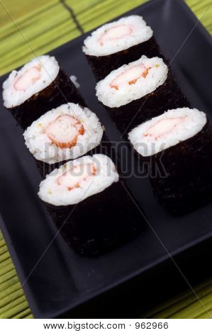 Food - Plate Of Sushi