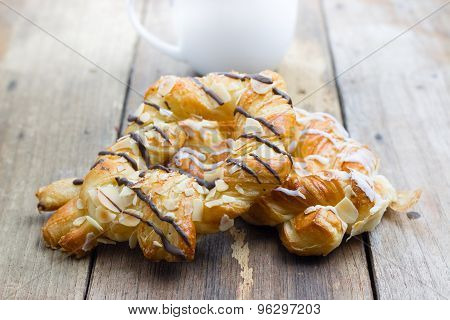 Sweet Bread With Coffee