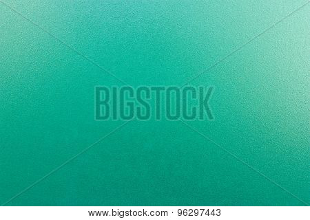 Turquoise Frosted Glass.