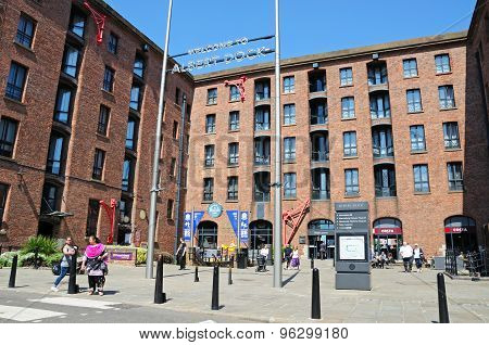 Britannia Pavilion, Albert Dock.