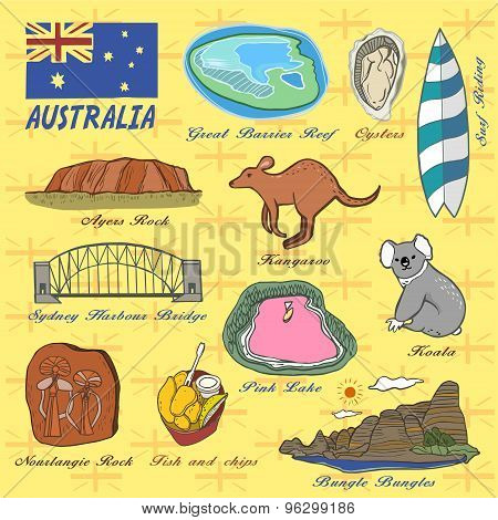 Travel Concept Of Australia