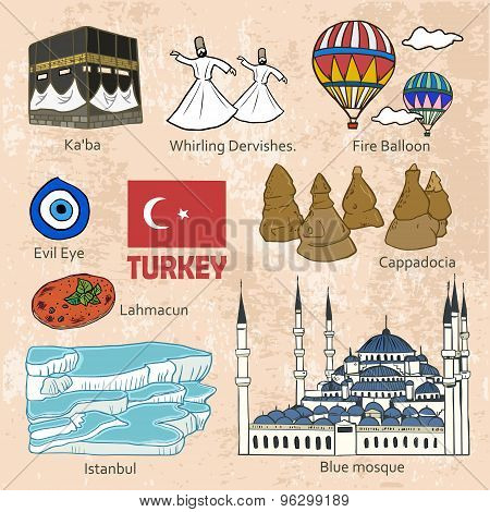 Travel Concept Of Turkey