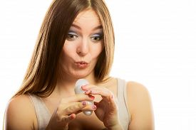 stock photo of deo  - Daily skin care and hygiene - JPG