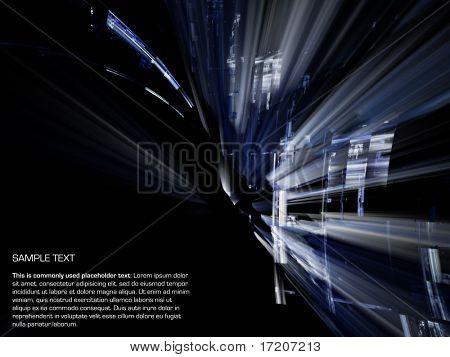 Original Fraktal-Hintergrund