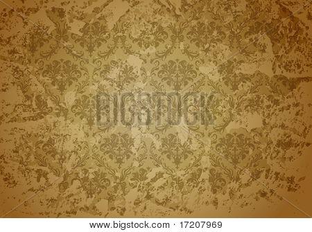 Padrão de papel de parede de Grunge taupe, cópia de bitmap