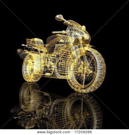 3d sport bike