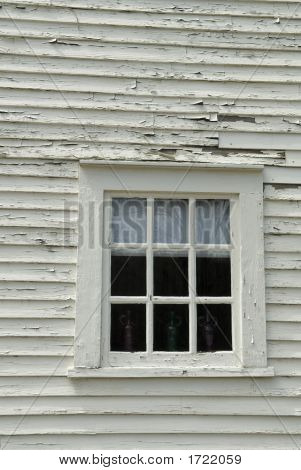 Old Colonial Window