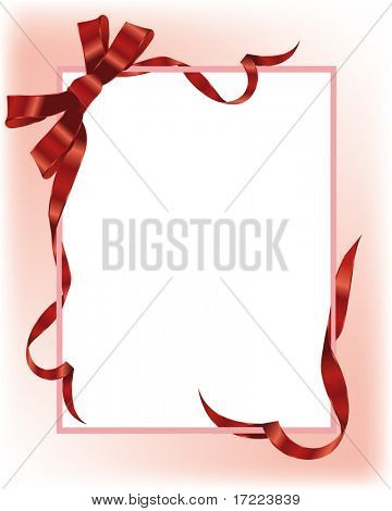 Beautiful holiday color ribbons