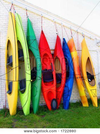 Canoas en fila A