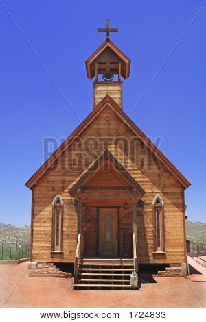 Wooden Church Out West