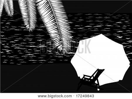 Praia de noite