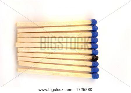 Matches Blue 09