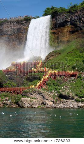 """""""Bridal Veil"""", Niagara Falls"""