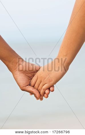 Lover Holding Hand
