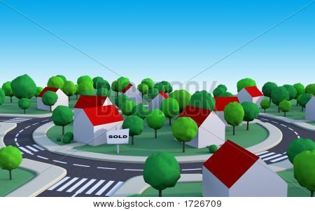 Sold House In The Suburbs