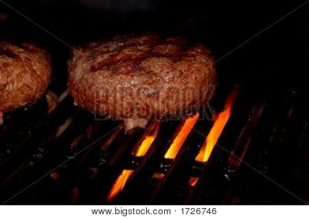 Burger On The Barbee