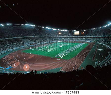 Game in Stadium