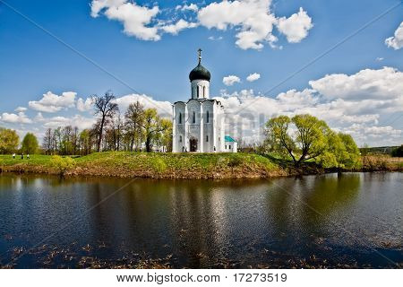 Church of Intercession upon Nerl River.