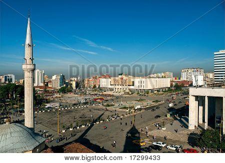 Skanderberg Square, Tirana, Albania