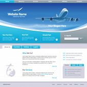 stock photo of web template  - Web site design template 6 - JPG