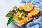 Organic Essential Tangerine, Mandarin, Clementine Oil poster