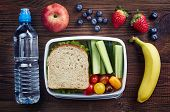 Healthy Lunch Box poster
