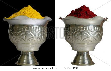 Turmeric And Red Pigment