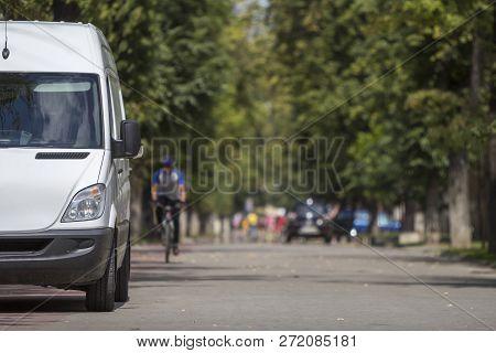 White Passenger Medium Size Commercial