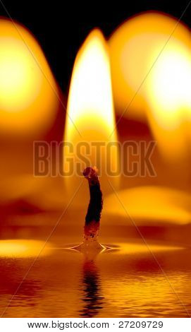Bright Candle light