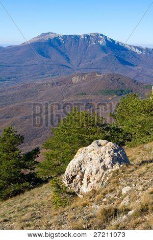 Nice mountain landscape. Crimea