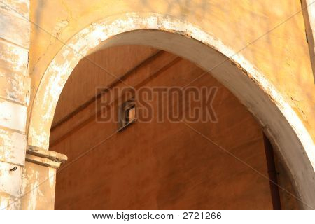 Arc Between Houses.