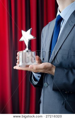 Businessman awarded with star award