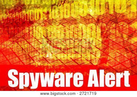 Spyware-Warnung-Warnmeldung